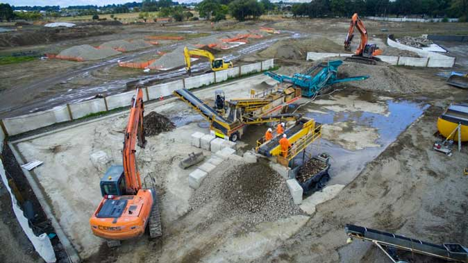 demo and decon project ceres NZ