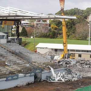 east stand demo