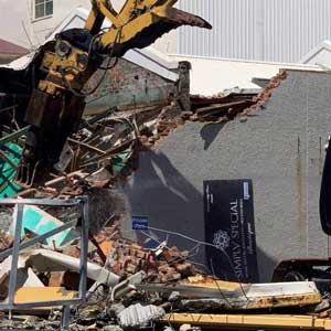 Invercargill demolition rellef