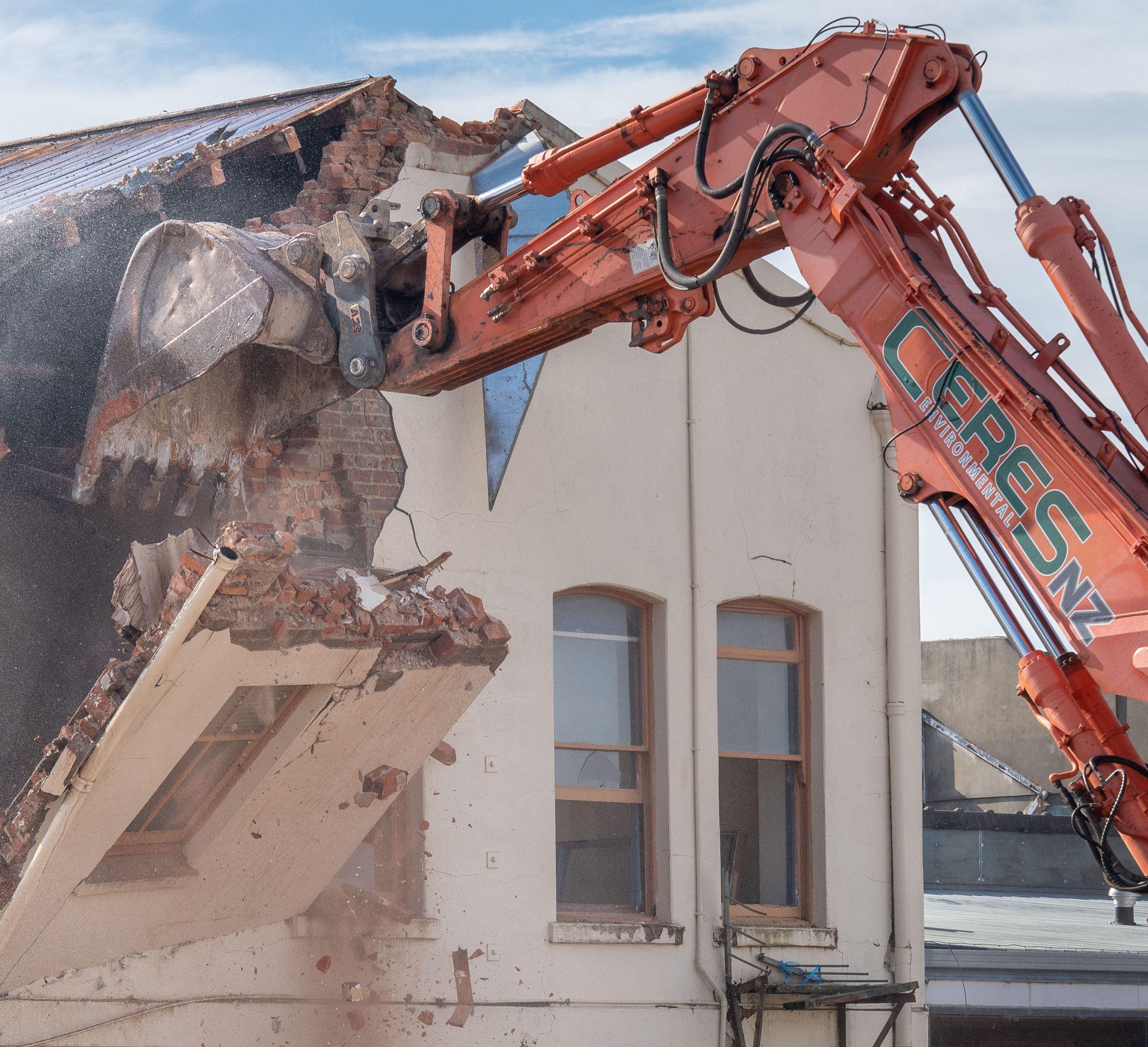 Building demolition Ceres NZ