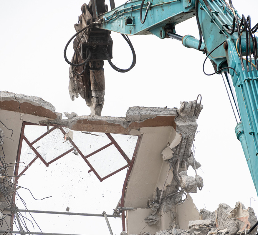 Ceres NZ team uses safe demolition methods in disaster recovery