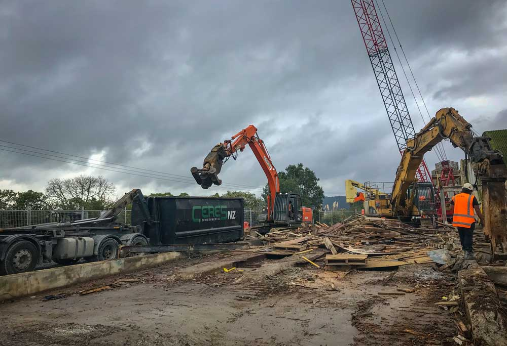 Construction and Demolition debris stream by Ceres NZ