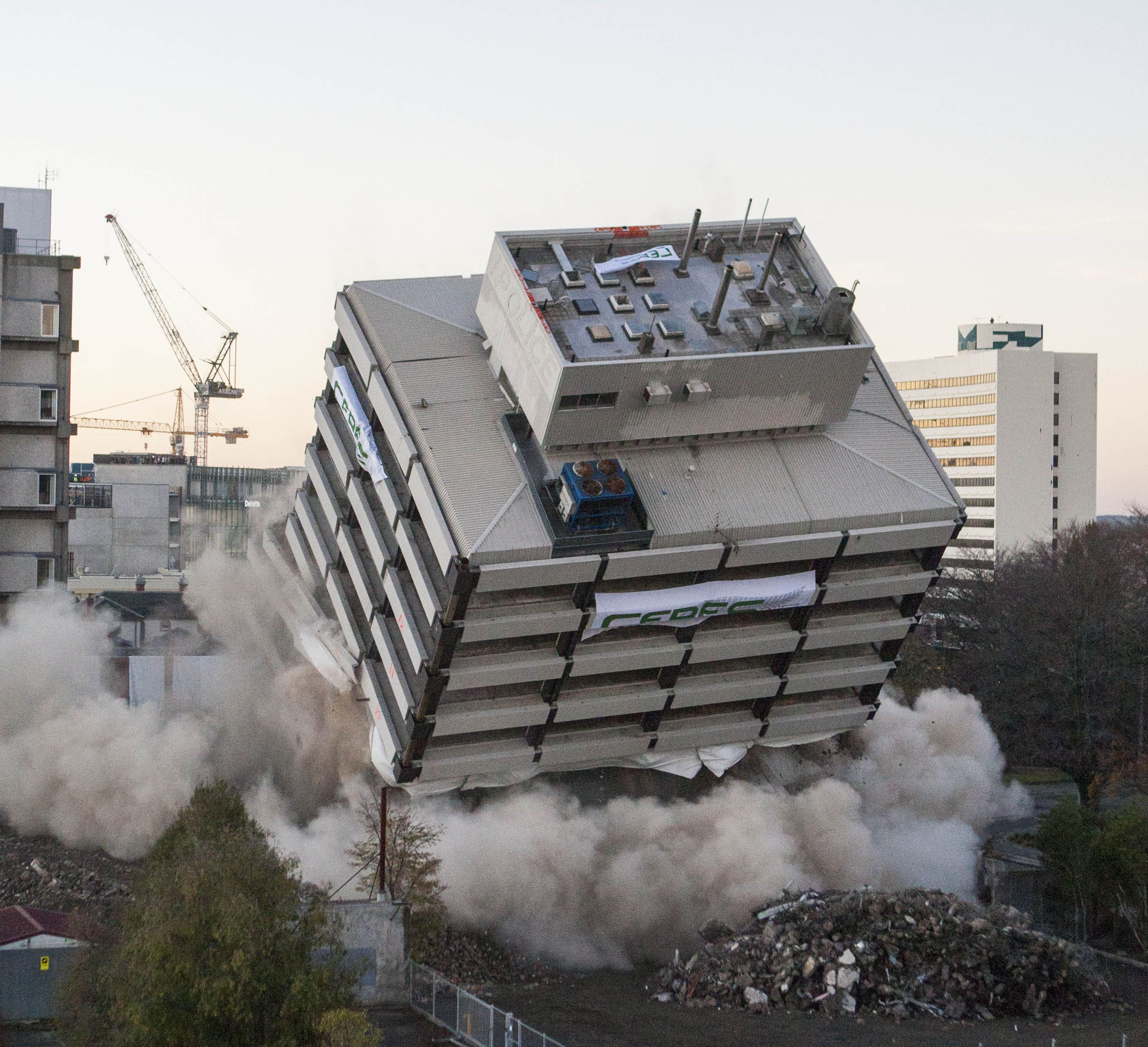 Building Implosion by Ceres NZ