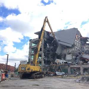 CentrePort House demolition project by Ceres